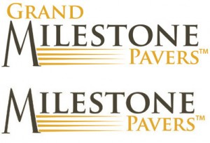 Grand Milestone Pavers™ and Milestone Pavers®
