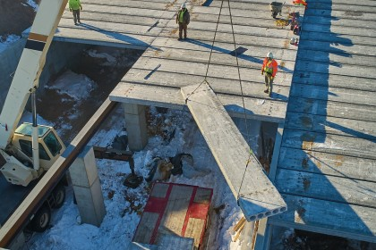 Hollowcore Roof & Floor Systems Offer Versatility for Demanding Multi-tenant and Mixed-use Buildings