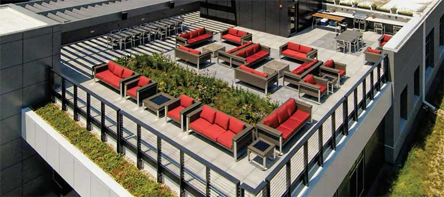 Architectural Roof Deck