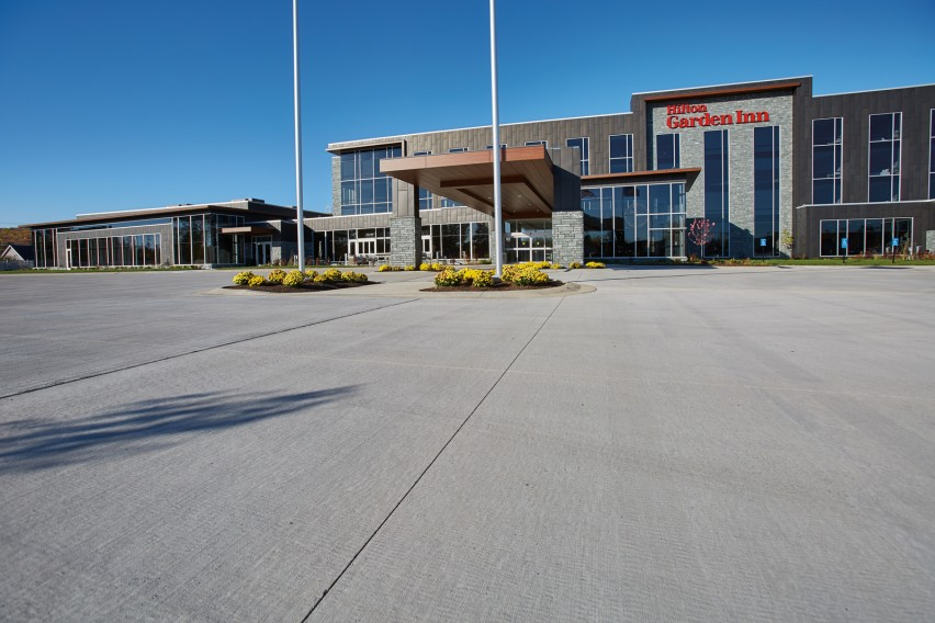 Ready-Mix Concrete Offers Many Benefits to Luxury Hotel