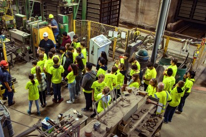 Heavy Metal Tour Makes a Stop at County Materials