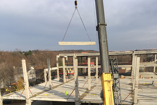 Hollowcore Enhances Safety in New Eau Claire Development
