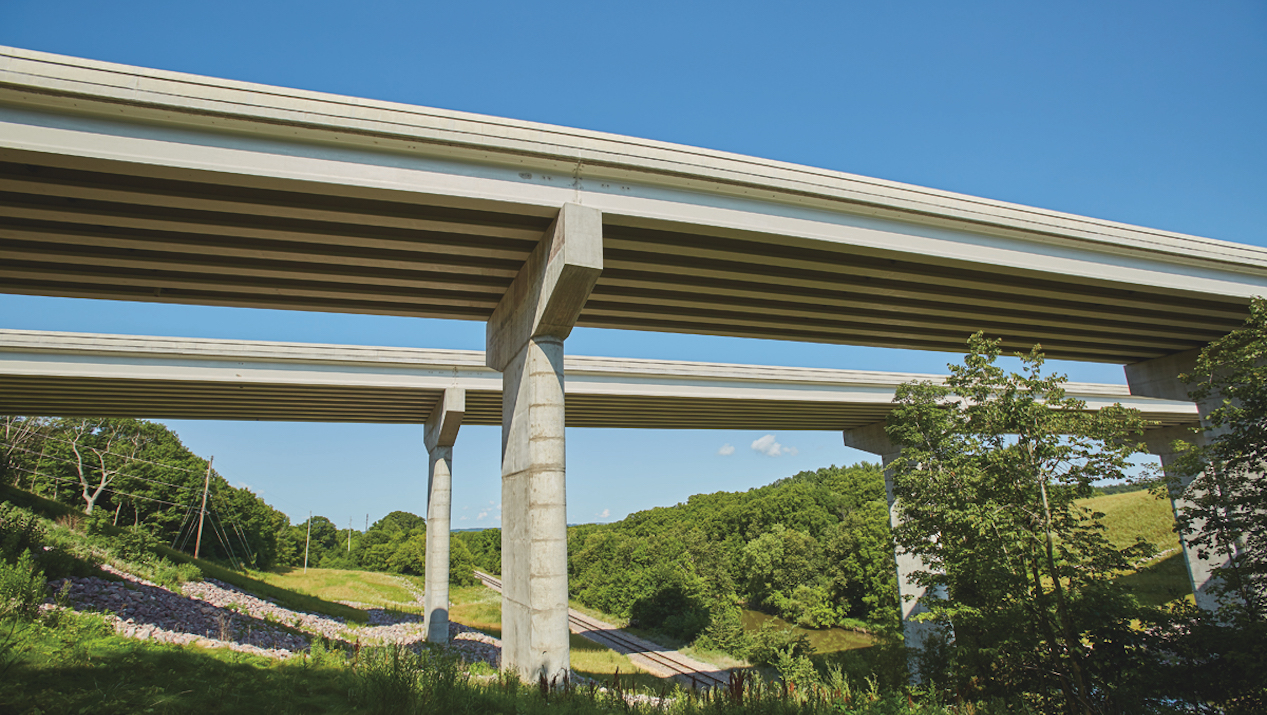 County Materials' Prestressed Concrete Bridge Girders Promote Longevity