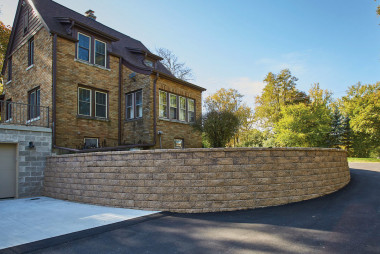 County Block® Retaining Wall System Offers Refined Aesthetics and Reliable Functionality