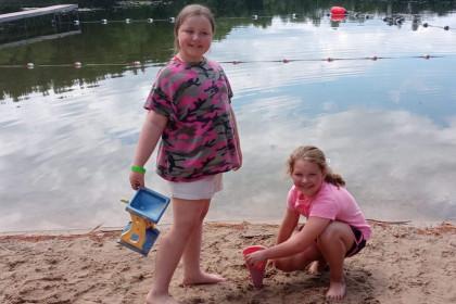 County Materials Donates Sand to Restore YMCA Camp Glacier Hollow Beach