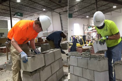 County Materials Donates Product to the International Masonry Institute's Apprentice Training