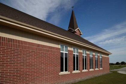 Heritage Collection Concrete Brick Helps Congregation Feel At Home in New Church Building