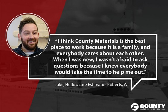 Jake, Hollowcore Estimator-Roberts, WI