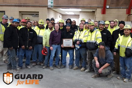 Janesville, Wisconsin Prestress Production Team Recognized for Safety Milestone Achievement