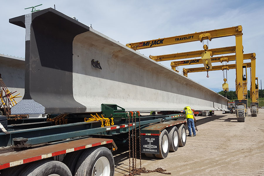 why prestressed concrete bridge girders are the preferred choice for long lasting bridges
