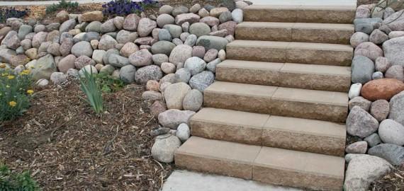 Oversize Landscape Step Units