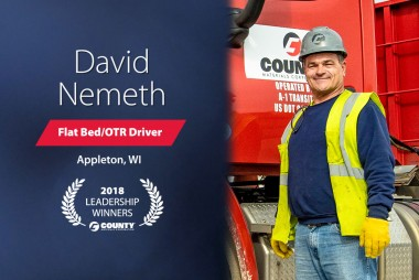 County Materials Congratulates David Nemeth-2018 Third Quarter Leadership Winner
