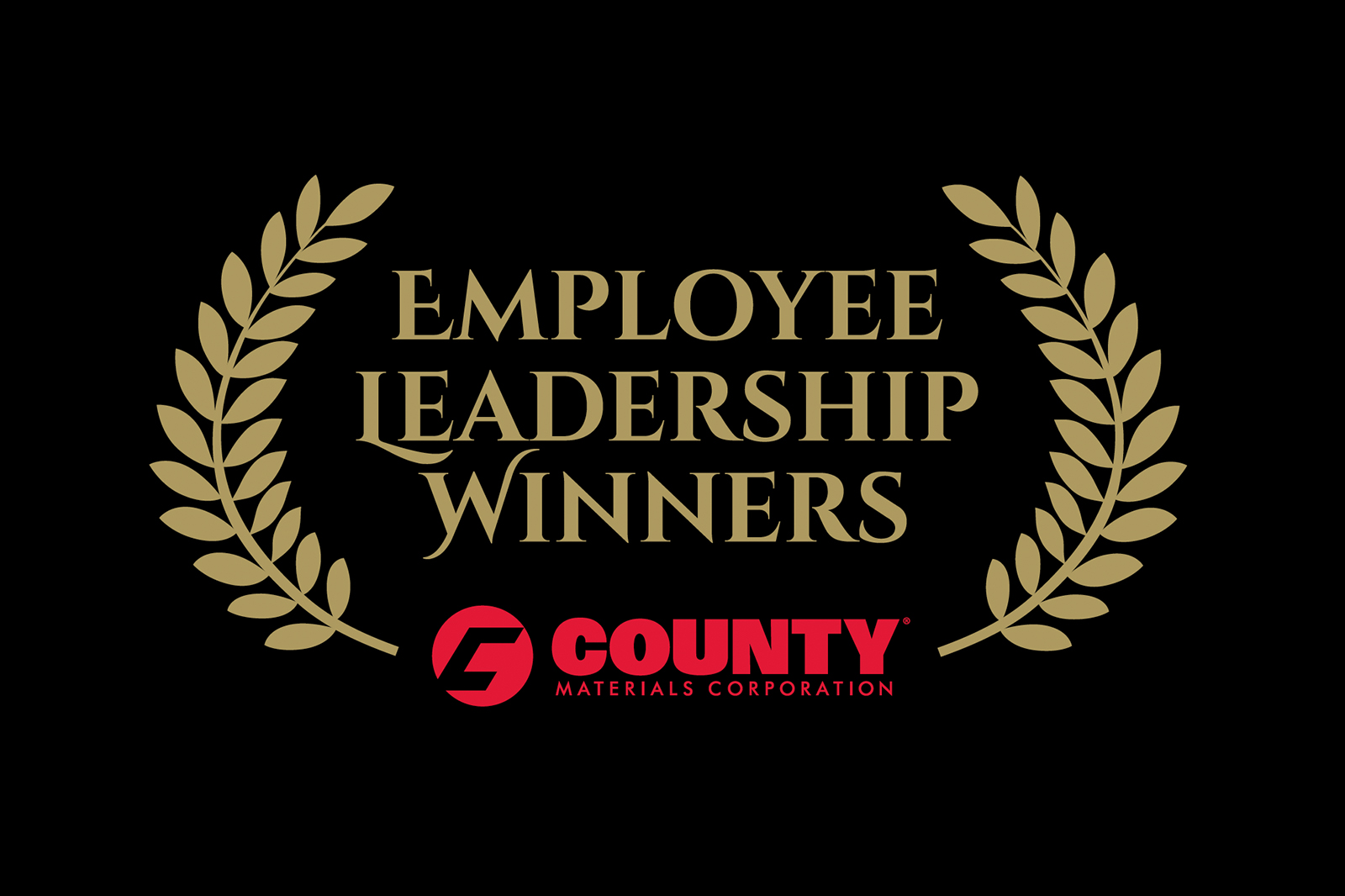 County Materials Recognizes Employee Leaders