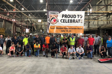 County Materials Celebrates Madison, WI Team Members