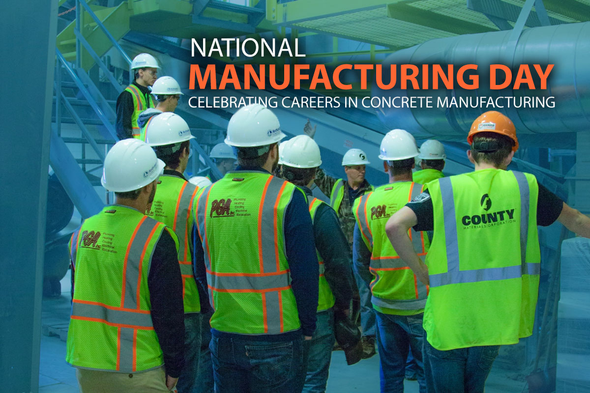 County Materials Raises Awareness During National Manufacturing Day