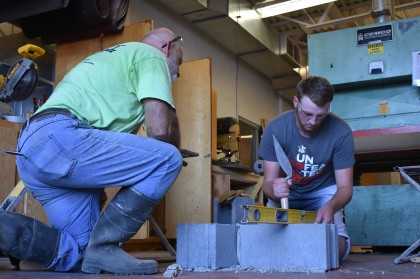 County Materials Partners with High School Class Working to Fill the Skilled Labor Gap