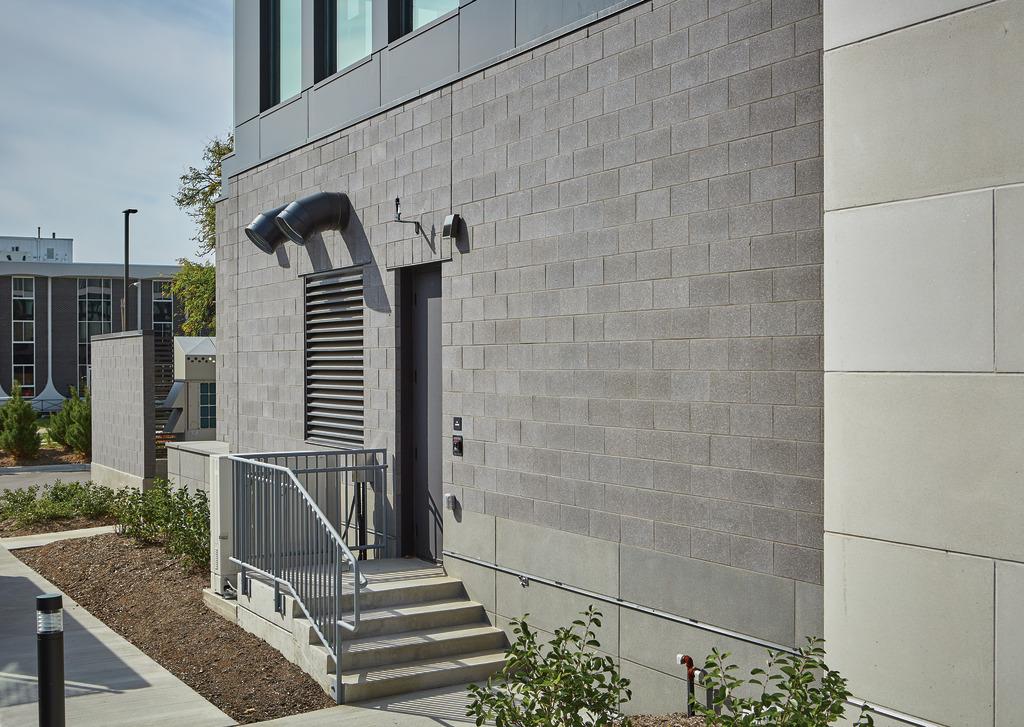 Premier Ultra® Burnished Masonry Units Add  Sleek Sophistication to Modern Hotel