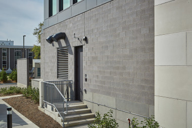 Premier Ultra® Burnished Masonry Units Add  Sleek Sophistication to Modern Hotel