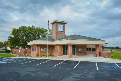 Concrete Masonry Units Provide Installation Versatility During Credit Union Remodel