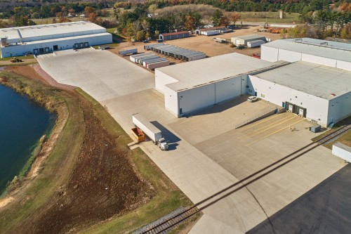 Ready-mix Meets the Demands of Industrial Warehouse Project