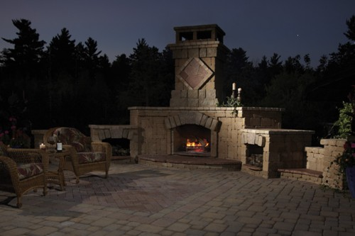 Minocqua Product Display (with Fireplace)