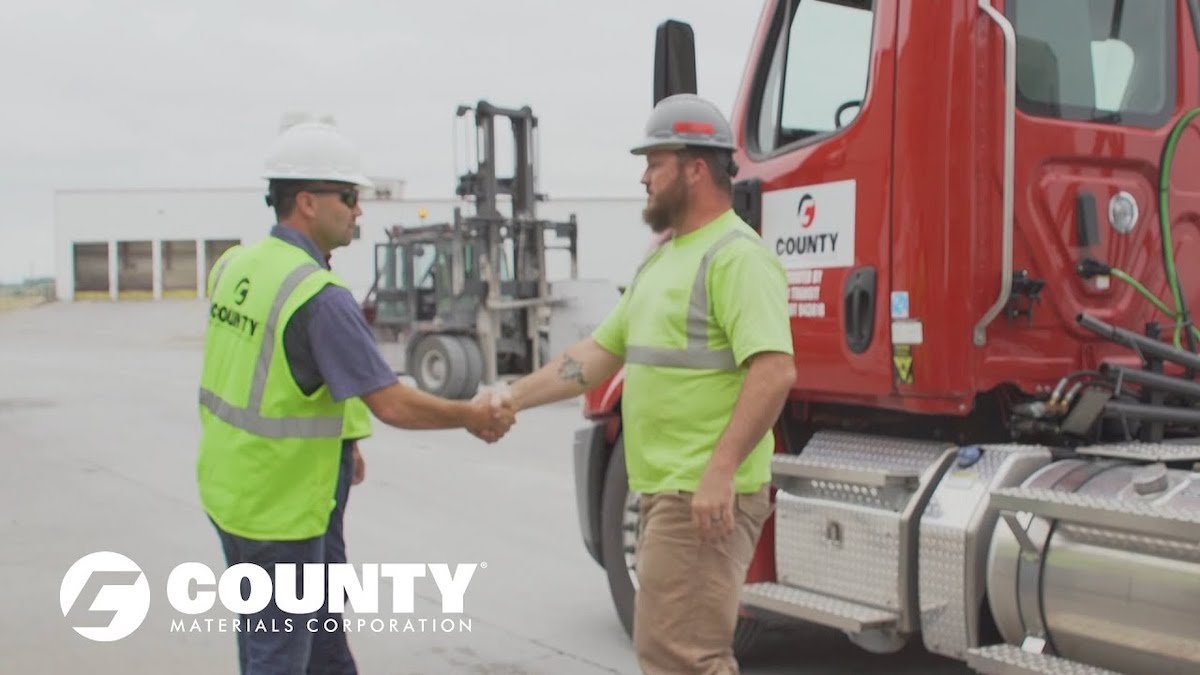 County Materials Salutes Our Professional Truck Drivers