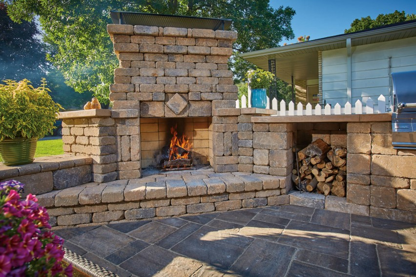Hearthside Fireplace Patio Best Home Design Interior