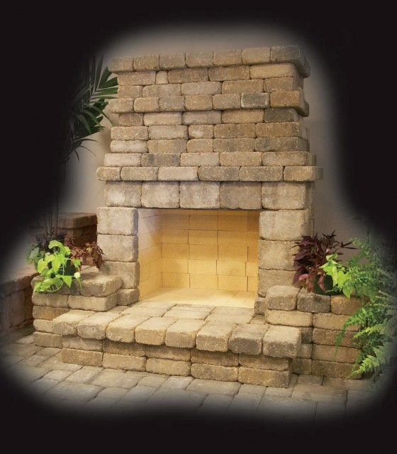 Summit Stone® Outdoor Fireplaces