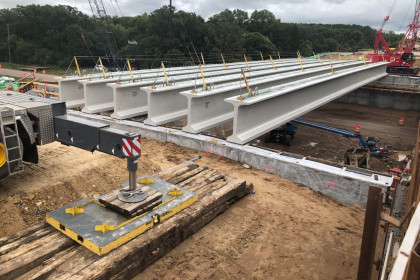 County Materials Expedites Time-Sensitive Bridge Replacement Project Utilizing Two Production Facilities