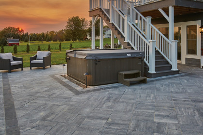 County Materials' Locally and Readily Available Concrete Pavers Deliver Stunning Results