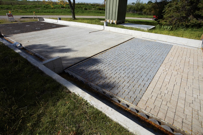 County Materials Continues to Support Permeable Paver Test Plot