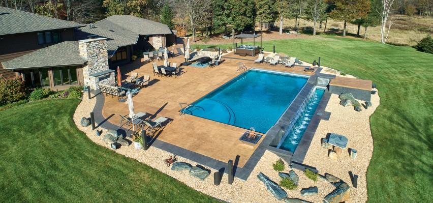 Backyard Patio Pushes Ready-Mix to its Limits