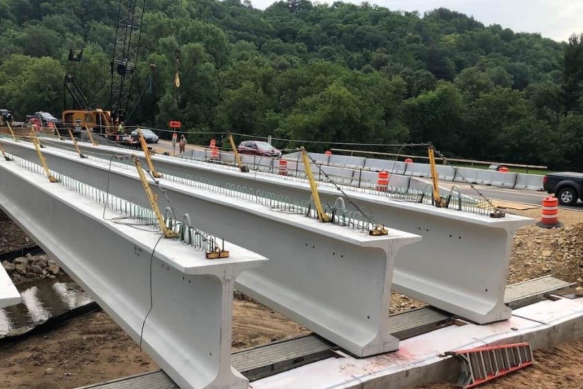 Plum City U.S. 10 Bridge Replacement Challenges Overcame