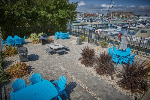 Elements™ Paving Stones Provide Flexibility in Marina's Intricate Design