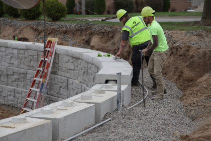 Expedite Installation and Reduce Overall Costs with Rib Rock™ Landscape Block
