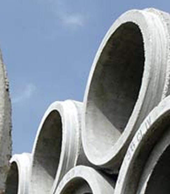 Round Reinforced Concrete Pipe