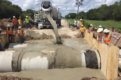 County Materials Aids in Emergency Repairs After Hurricane Hermine Hits Florida