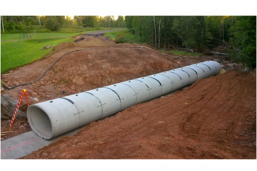 Elliptical Reinforced Concrete Pipe Reopens Highway After Devastating Storm Hits Northcentral Wisconsin