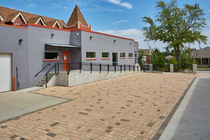 H2O Pro Pavers® Specified as an Eco-Friendly Storm Water Management System for Small Business