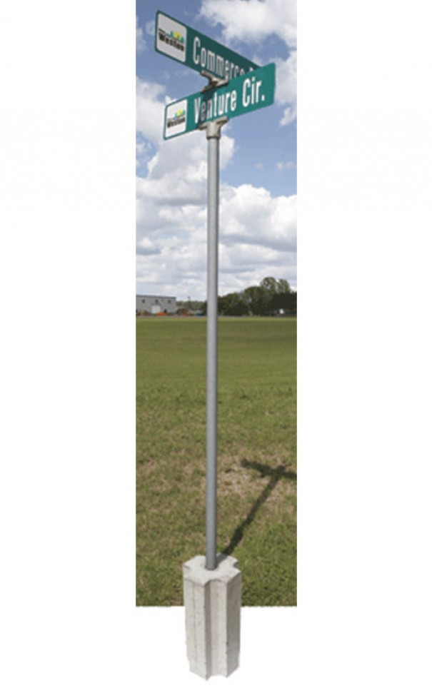 Sign Post Base