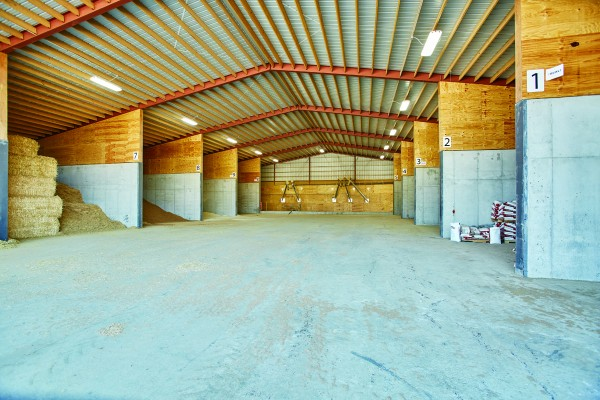 Family Farm Expansion Possible with Ready-Mix Concrete  from County Materials