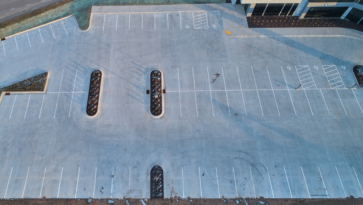 Ready-Mix Concrete is the Material of Choice for Expansive Commercial Parking Lots