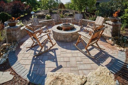 Impromptu Design Changes Made Easy with County Materials' Hardscape Products