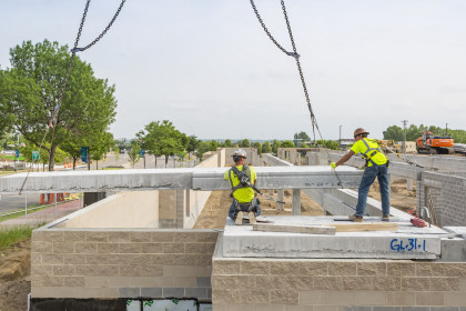 County Materials Supplies Hollowcore for Luxury Apartment Communities