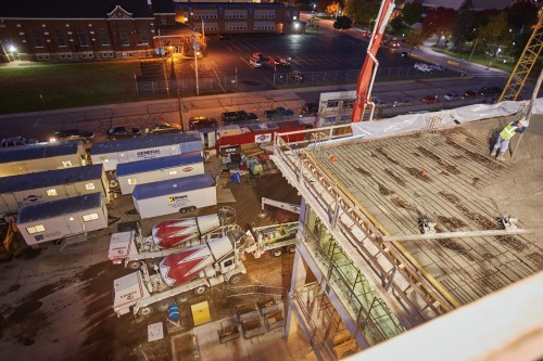 Ready-Mix Provides the Main Ingredient for UW Stevens Point Science Building