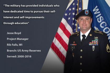 Veteran Profile: Jesse Boyd