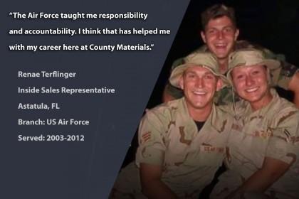 Veteran Profile: Renae Terflinger