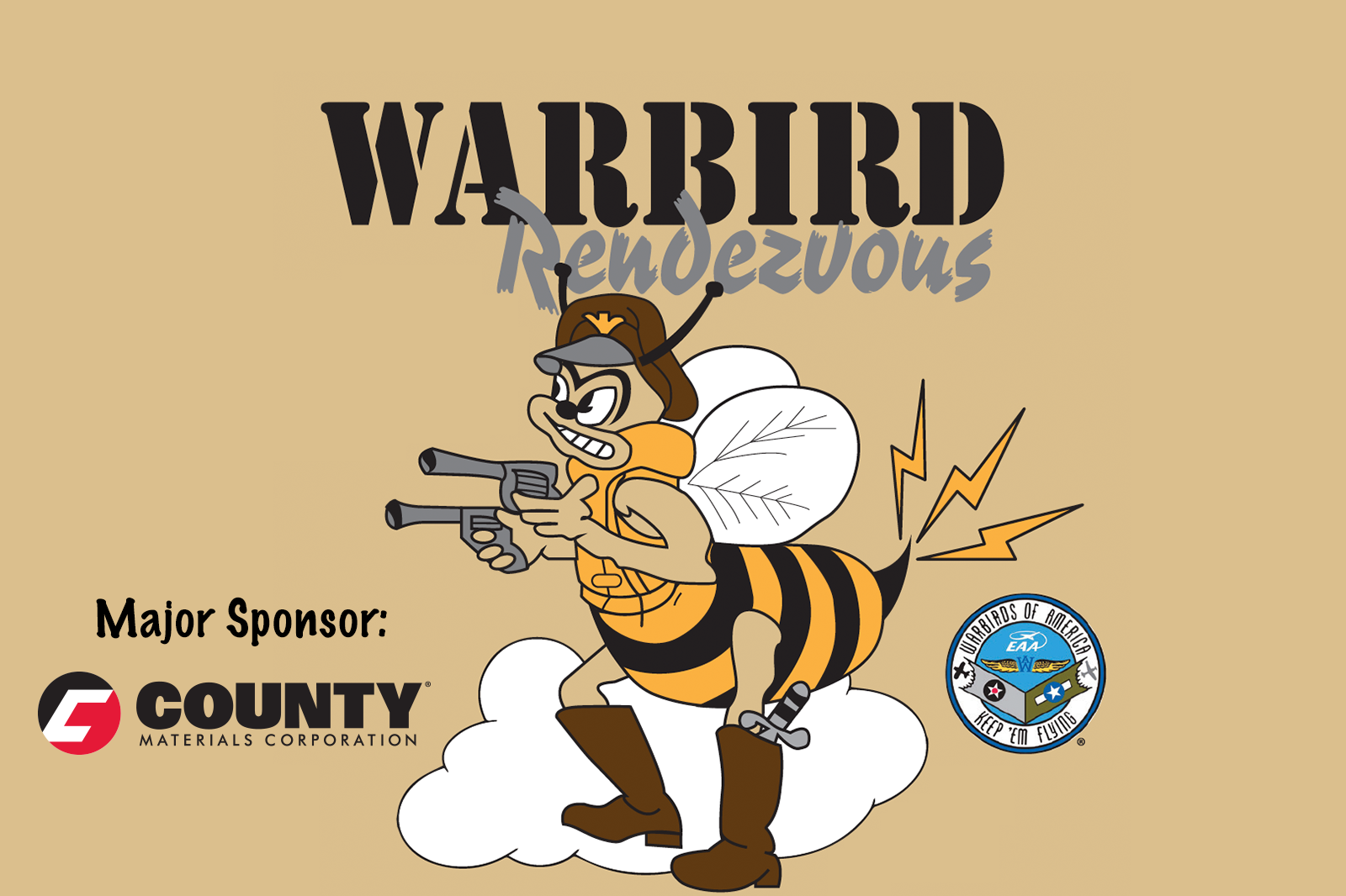 County Materials Sponsors Warbird Rendezvous Event to Support Central Wisconsin Veterans