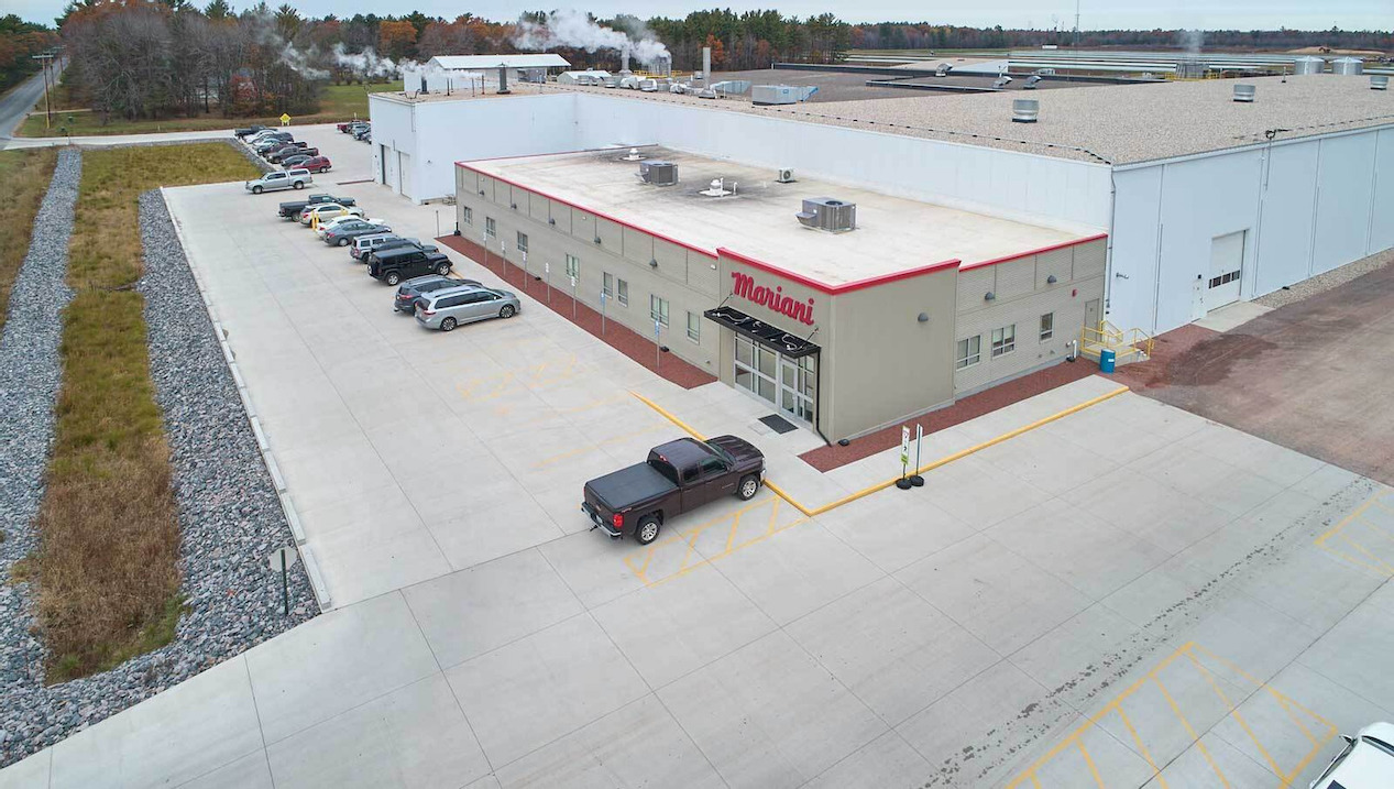 Concrete Parking Lot Enhances Safety and Visibility for Night Shift Production Team