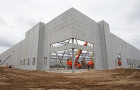 County Materials' Enhanced Production Capacity Supports  Concurrent Warehouse Construction
